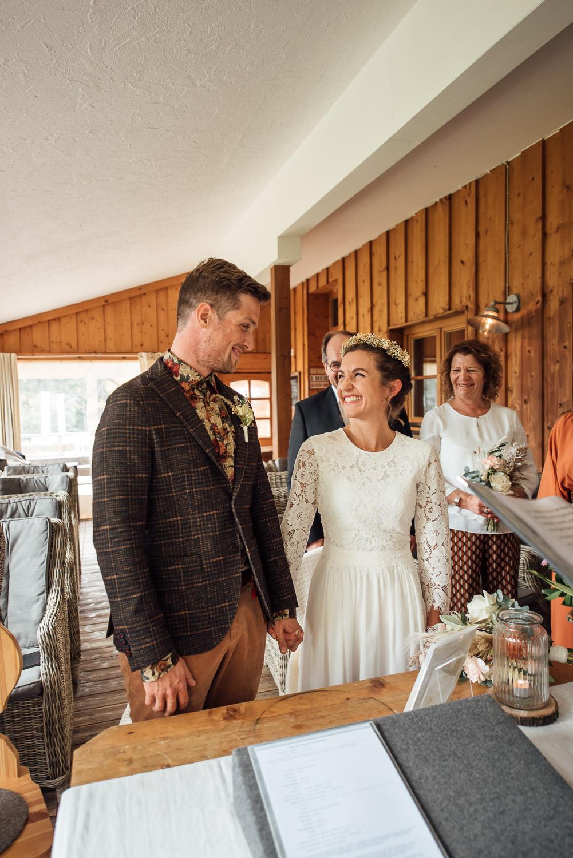 Hochzeitsfotograf Berghochzeit in Bayern